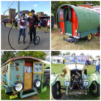 Vans and cars Ironfest 2015