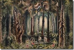 Charles Burchfield woods