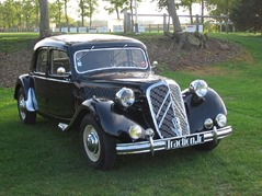 Citroen Traction 15-Six D 1951