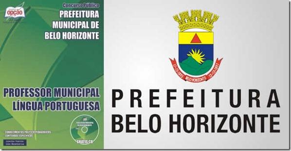 apostila prefeitura de BH professor de português