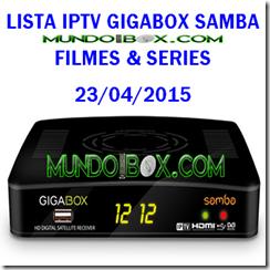 IPTV GIGABOX SAMBA FILMES & SERIES