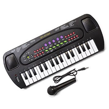 teclado-electrónico-karaoke-niños-musica-habilidades-regalos