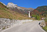 Passo Croce d'Aune (1015m), Westrampe.