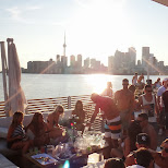 breathtaking view of Toronto from Cabana in Toronto, Ontario, Canada