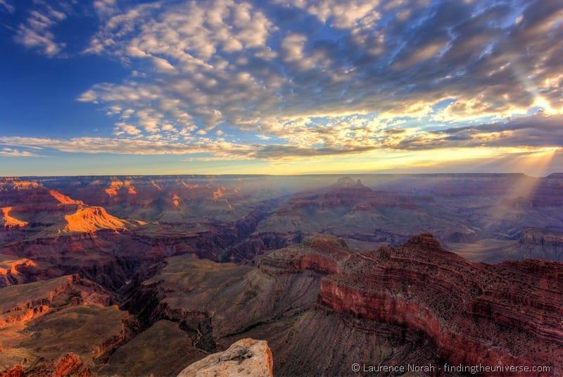 Grand canyon sunrise Mather Point 6