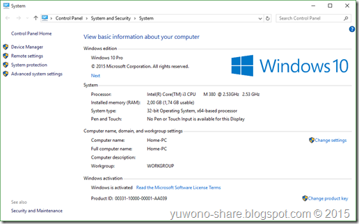 Windows 10 RTM Final