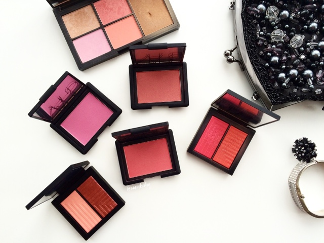 nars blush collection