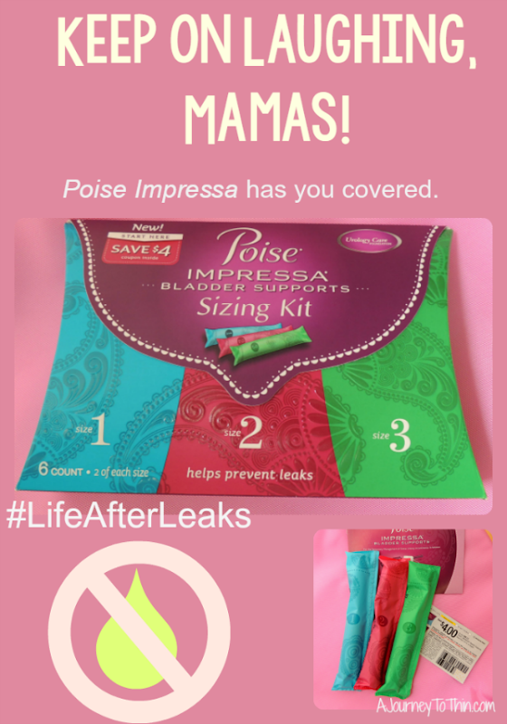 Stress Urinary Incontinence SUI Poise Impressa #LifeAfterLeaks