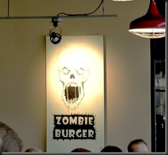 Zombie Burger is on the Menu