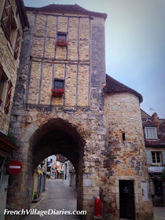 French village diaries Mini Cooper road trip Rocamadour France