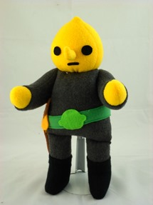 Cuddly Plush Lemon Earl from Handmade Stuffs