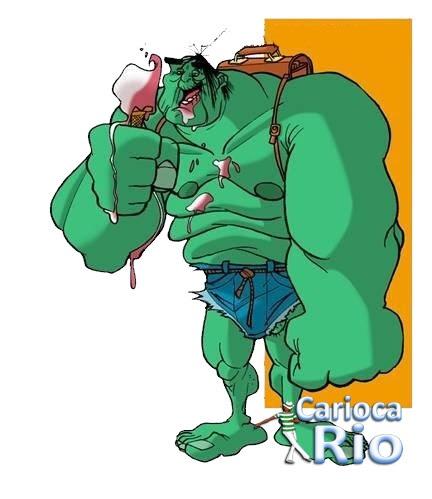 O tempo passa pra todos  - Hulk