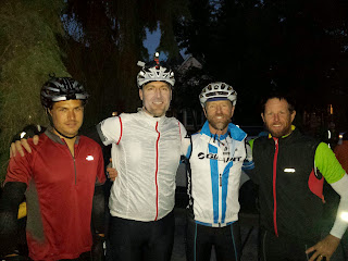 Left to right: Brian (WA), me (CA), Blake (CA), and Jeremy (CA). Roland (not in picture) was the 4th Californian.