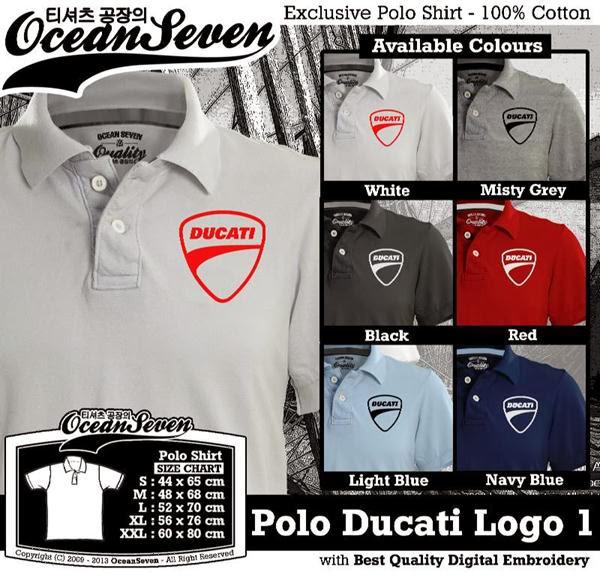 POLO Ducati Logo distro ocean seven