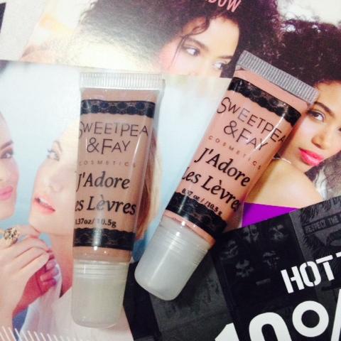 Sweetpea & Fay Cosmetics J'Adore Les Levres