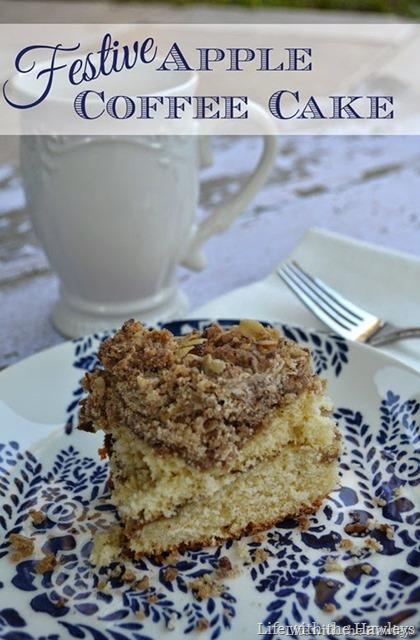 Festive Apple Coffee Cake