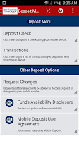 Screenshot of FVB Mobile Banking