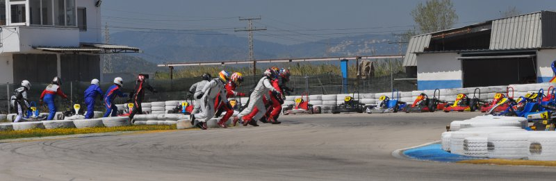 Salida Le Mans