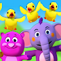 Five Little Ducks 3D Rhymes Collection Videos kids