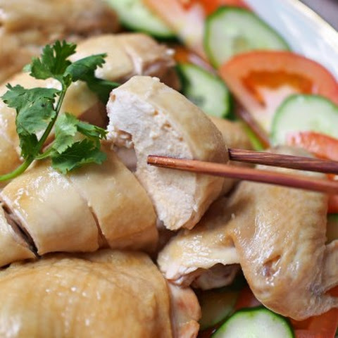 Hainanese Steamed Chicken