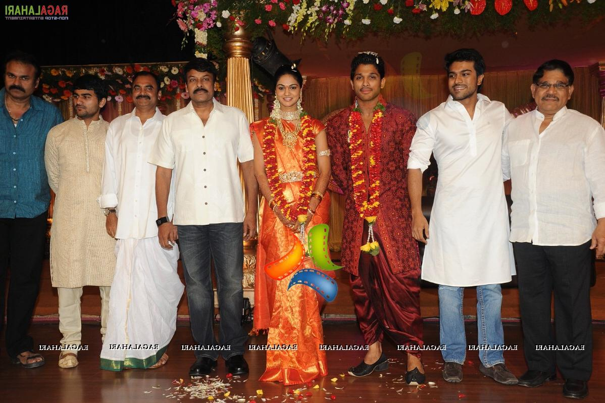 Allu Arjun-Sneha Reddy Wedding