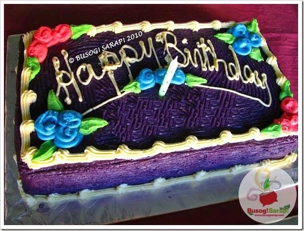 Mr.H Ube Cake© BUSOG! SARAP! 2010