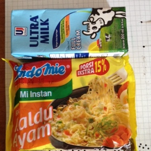 resep, recipe, indomie, susu ultra