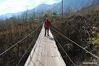 Przez wiszący most...