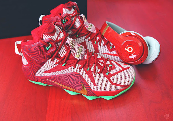 Up Close With the Nike LeBron 12  Beats  Sprite 8220LeBron8217s Mix8221 Pack