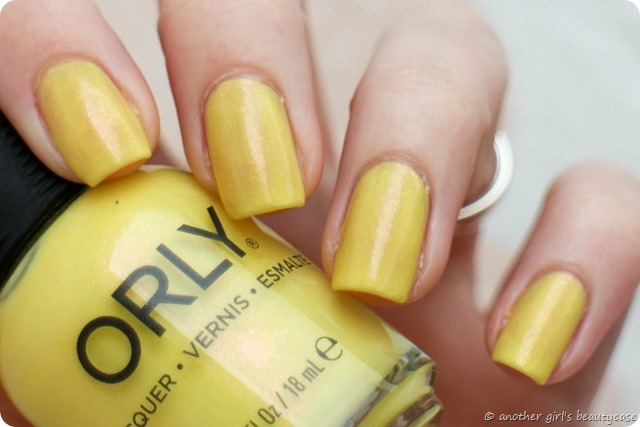 LFB Gelb Orly Melodious Utopia Swatch Yellow-2
