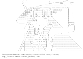 [AA]Itsuki (Wish Upon the Pleiades)