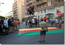 Manifestazione contro la guerra sporca della Turchia
