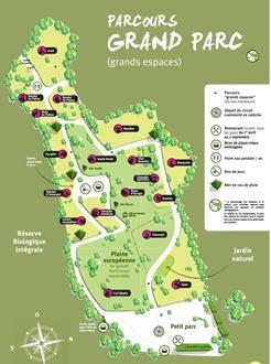 Zoodyssée grand parc plan