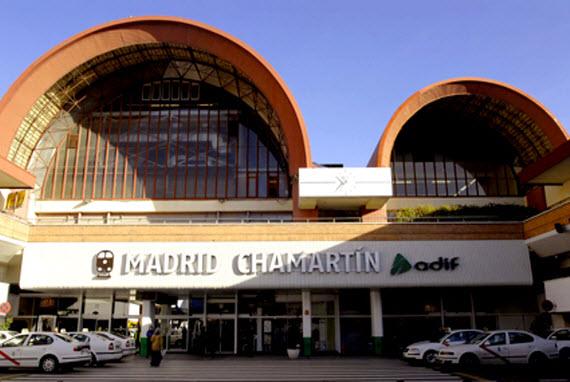 estación de Madrid-Chamartín