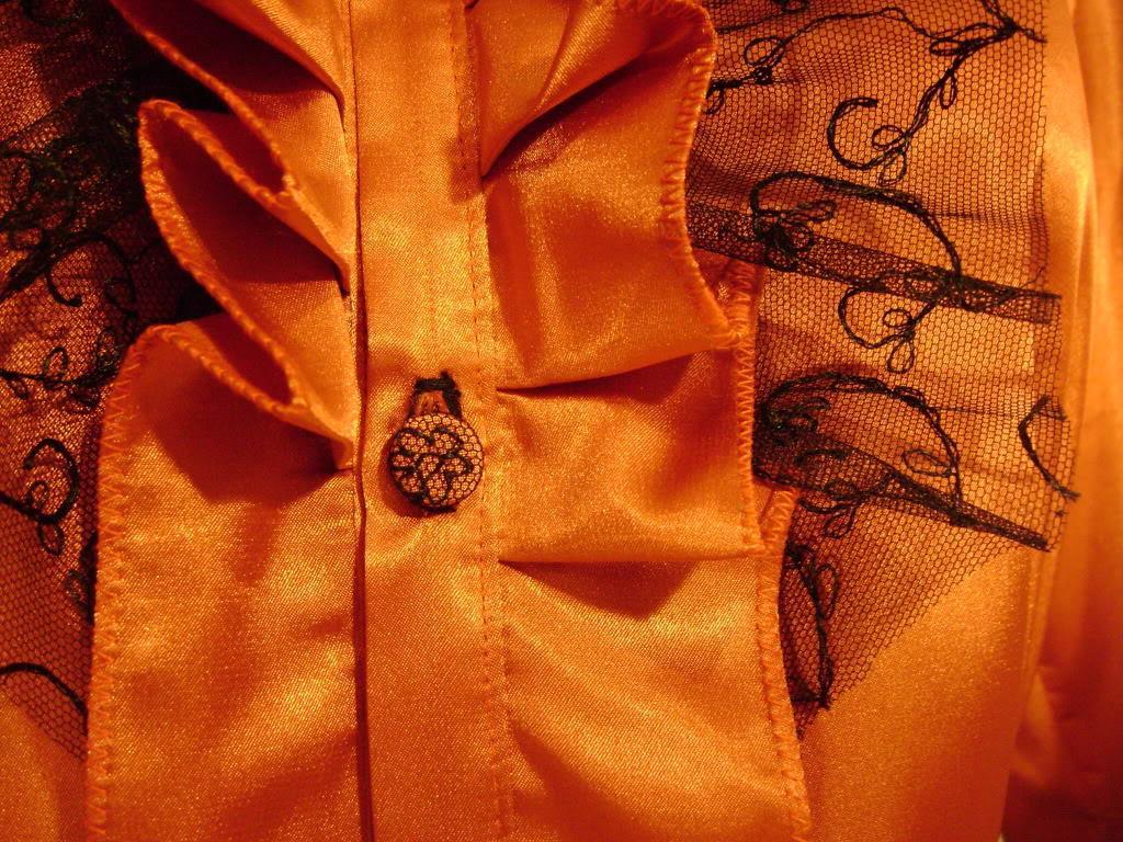 Yasemin lace bib Blouse