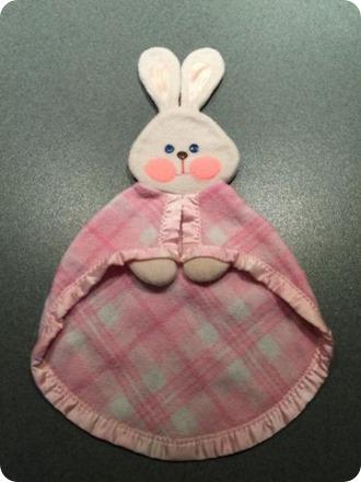 ebay bunny blanket
