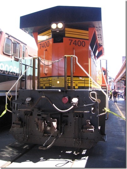 IMG_2800 BNSF ES44DC #7400 at Union Station in Portland, Oregon on May 8, 2010