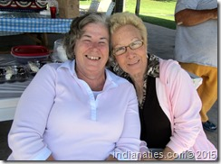 Brenda Henigan with her aunt, Diana Pugh