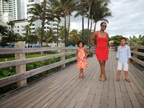 Miami Beach board walk