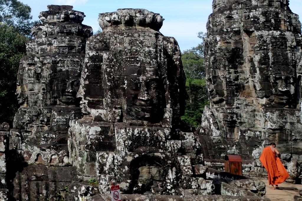 Największe wrażenie zrobiła na nas świątynia Bayon, gdzie...
