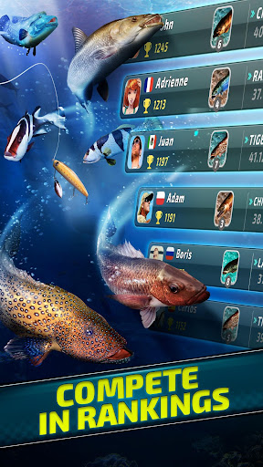 Fishing Clash: Catching Fish Game. Bass Hunting 3D For PC