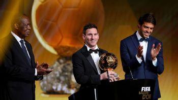 Messi wins record ballon d'Or