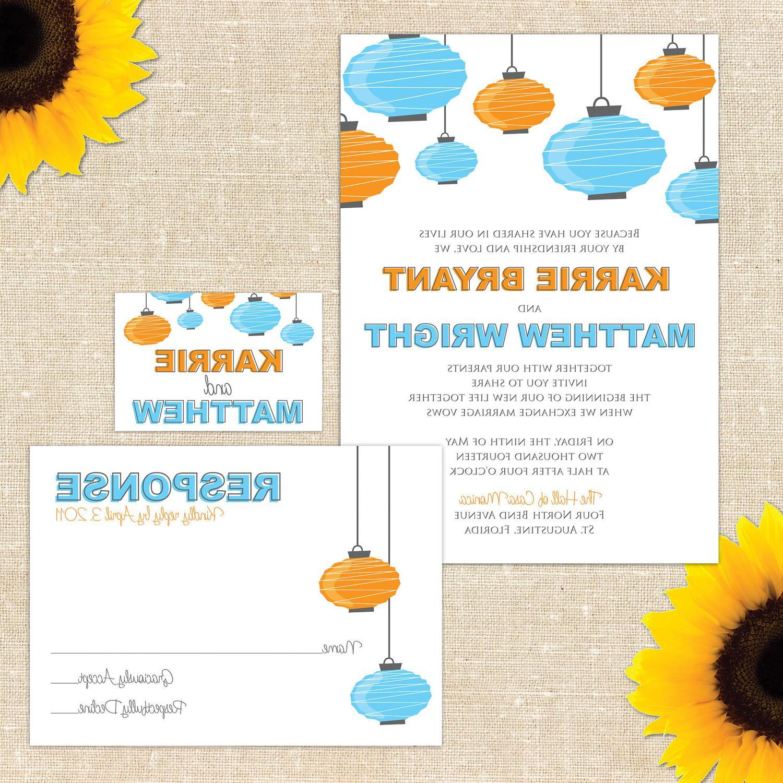 All wedding invitations are