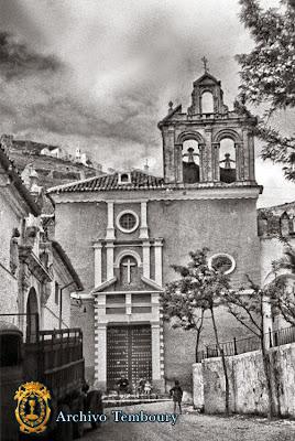 Iglesia de la Victoria - Años 50 - Archivo Temboury