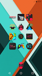 DarkFlow - Icon Pack- screenshot thumbnail