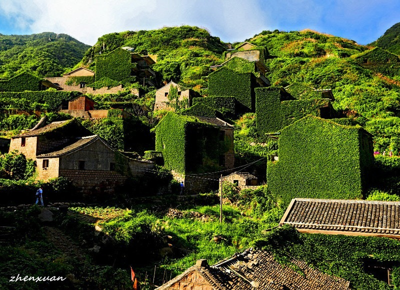 C'est de toute beauté : sites et lieux magnifiques de notre monde. Gouqi-island-abandoned-village-6%25255B9%25255D