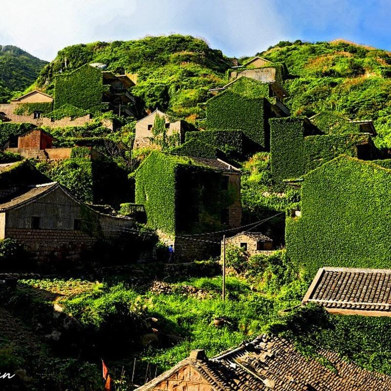 An Abandoned Fishing Village on Gouqi Island, China