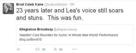 Brad Kane on Twitter