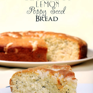 Crock Pot Lemon Poppy Seed Bread