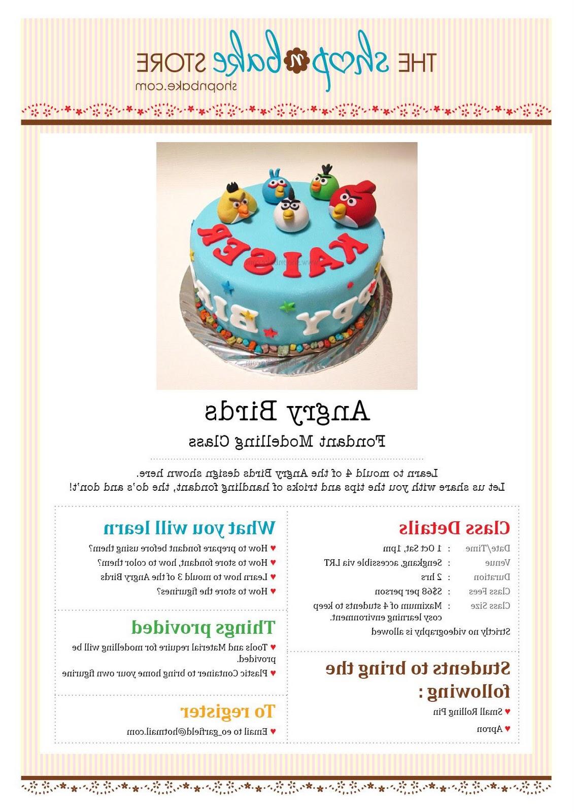 of Angry Bird Cake     7?